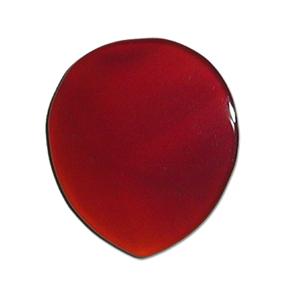 GUITAR PICK ストーンピック1枚入りメノウ天然石ピックスタンダードラウンド型 色/カラー:ブラウン
