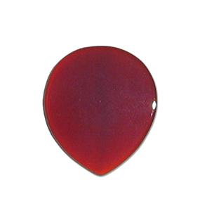 GUITAR PICK ストーンピック1枚入りメノウ天然石ピックラウンドスモール型 色/カラー:ブラウン