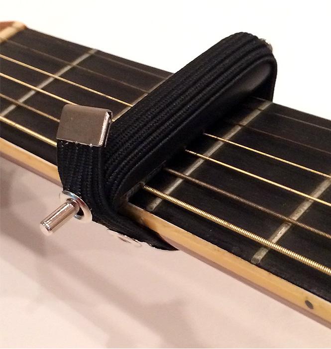 ギター用ダブルゴムカポ