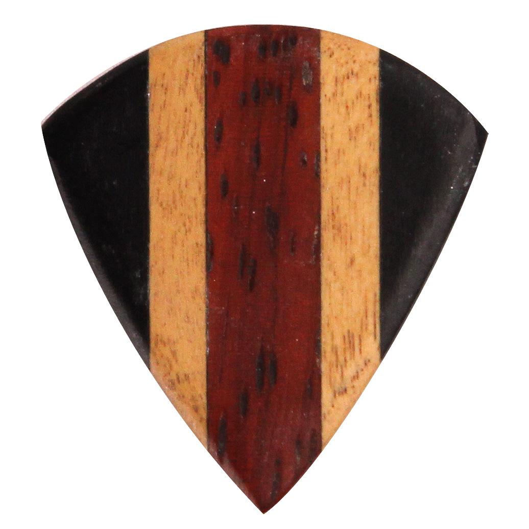 ブラックナイト ミックスウッド 素材:エボニー/ハルドゥ/アフリカンパドック ゲージ:約2.00mm 5枚入り