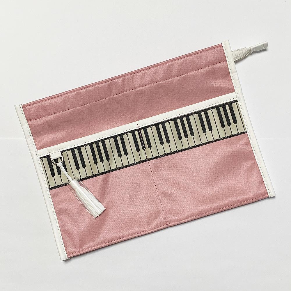 ケンバンリボン バッグインバッグ ピンク<br>【オンラインショップ限定商品:A.Y.Judieとmusic for livingのコラボで製品化】