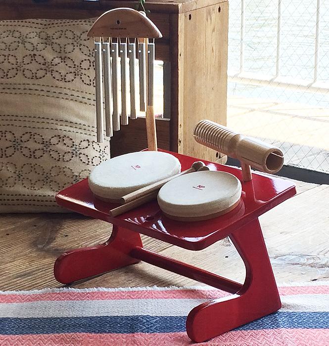 キッズパーカッション Kids percussion ミニミニドラムセット KP-690