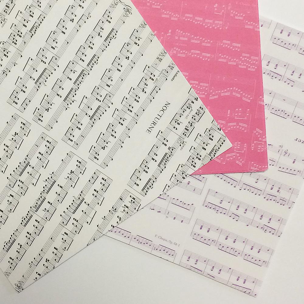 ショパン クラフト折り紙