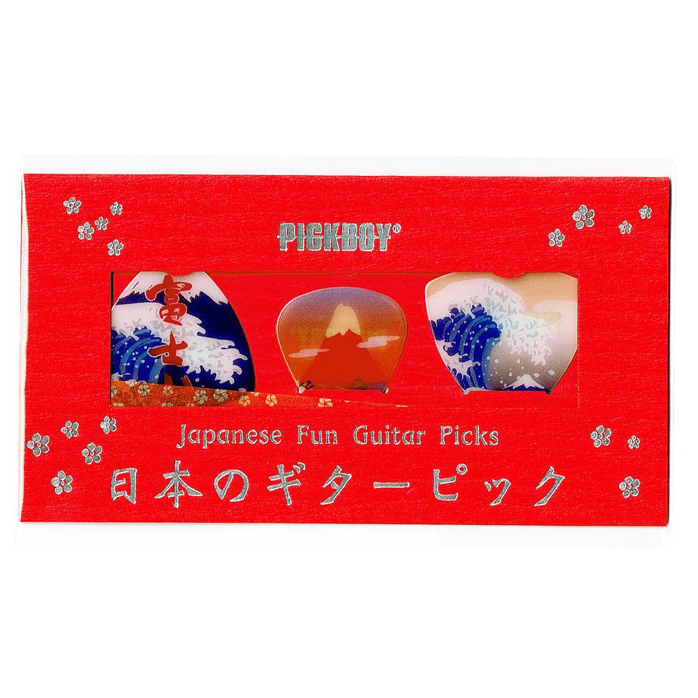 日本のギターピックギフトパック 富士山三景