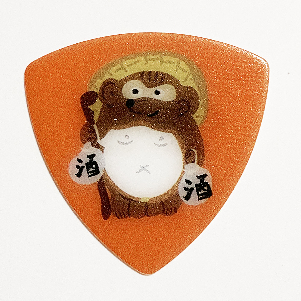 日本のギターピックギフトパック ウェルカムどうぶつ
