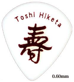 TOSHI HIKETA シグネチャーピック 0.60mm~1.20mm 20枚入り