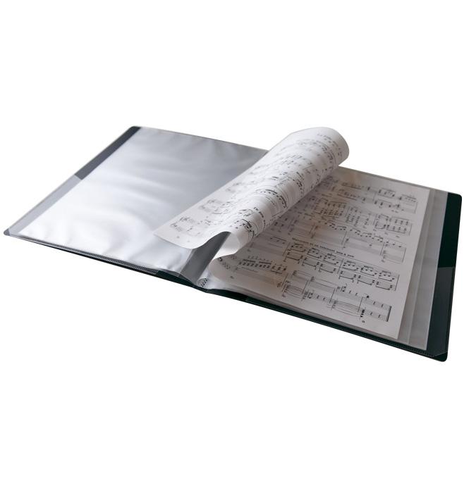 ミュージックレッスンファイル ブラスバンド ブラック MUSIC LESSON FILE 楽譜ファイル