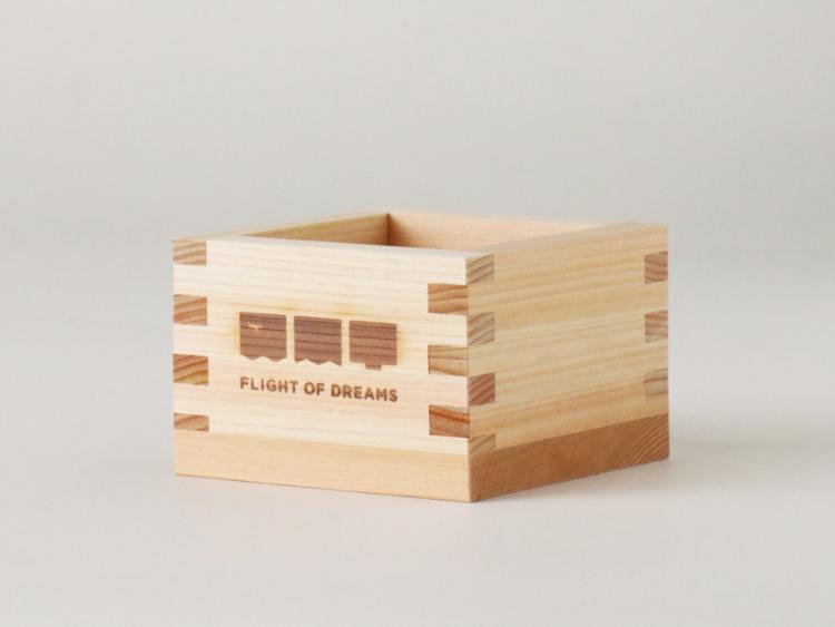 FLIGHT OF DREAMS 枡 ロゴ