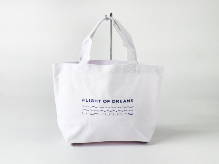 FLIGHT OF DREAMS トートバッグ(小) ロゴ