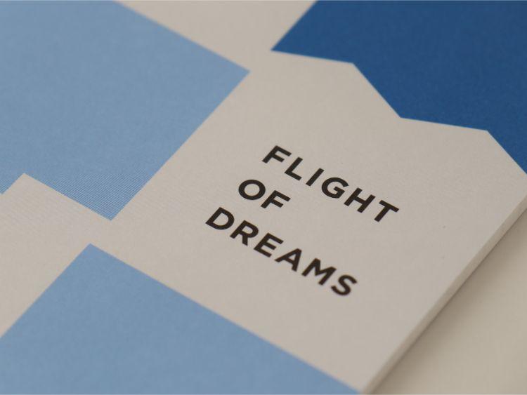 FLIGHT OF DREAMS ノート ロゴ