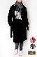 マフラー ウール混【ドット・ブラック】イタリアの女性用マフラー 38cm幅*196cm(フリンジ込み)/冬の防寒・通勤通学におすすめ