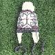 キッズ用ニット帽 耳当て付フライトキャップ【18ヶ月【1才半】前後用サイズ】繊細メリノウール100%/イタリア製 秋冬 子供帽子