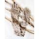 ニット手袋 ロング【ベージュ】ウール混・ぬくぬく可愛いニットグローブ/イタリア製 長さ40cm 秋冬 手袋