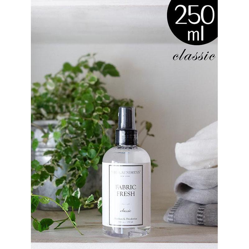 ザ・ランドレス仕上げ剤/ニオイを抑える布用ミスト:ファブリックフレッシュ/250ml/Classicの香り/NY発ブランド THE LAUNDRESS