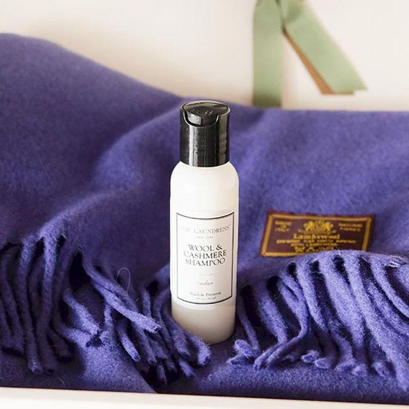 ザ・ランドレス洗濯洗剤/羊毛ニットやマフラーに:ウールカシミアシャンプー/お試し60ml/Cedarの香り/NY発ブランド THE LAUNDRESS
