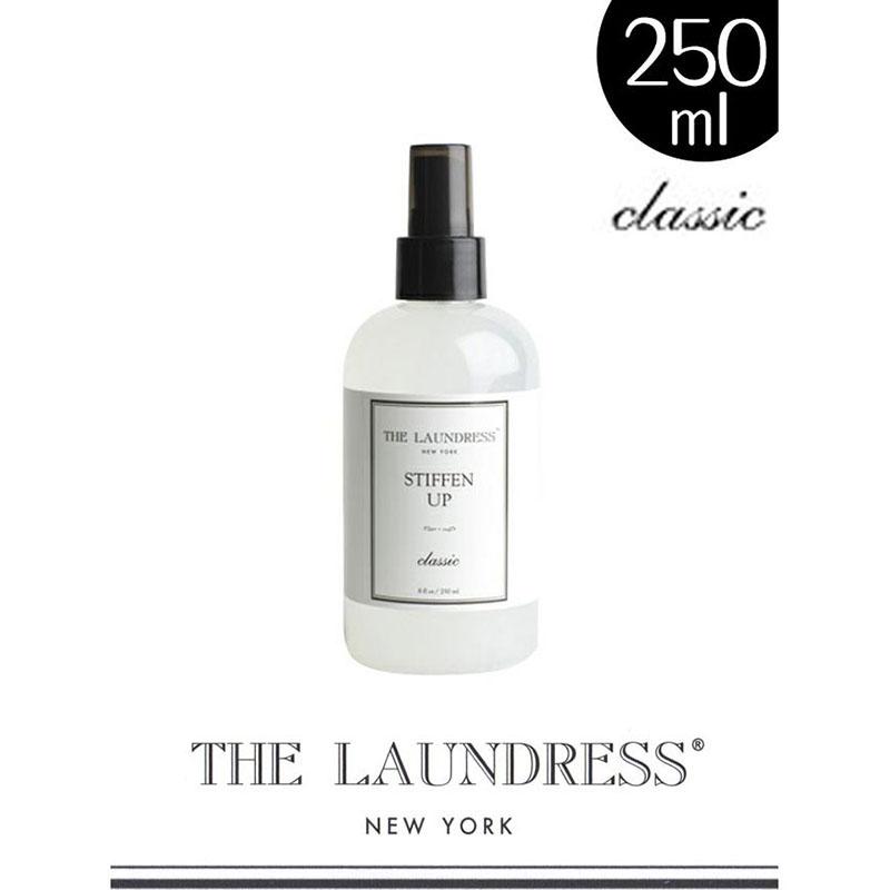 ザ・ランドレス仕上げ剤/アイロンがけ用スプレー:スティフィンアップ/250ml/Classicの香り/NY発ブランド THE LAUNDRESS