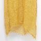 大判ストール【やまぶき色】秋のレディースストール・男女兼用可【掘り出し物】イタリア製 88*200cm