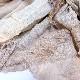 メンズストール むら染めプロペラストール【ベージュ系】男性におすすめ/イタリア製 45*180cm 春秋冬向きストール