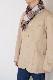 メンズマフラー【チェック・ホワイト】ウール混・イタリアの男性用マフラー 30cm幅*170cm/冬の防寒・通勤通学におすすめ