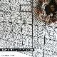 【デザイン柄タイルシール】コアバティック  タイルシール全色 (黒目地) 5種類柄5枚セット販売 100角タイル
