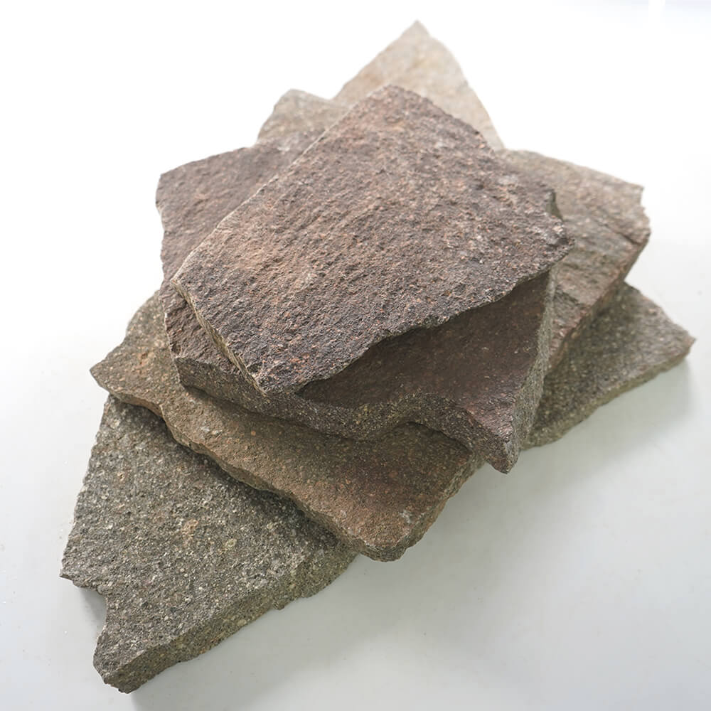 【乱形石 斑岩】 ポルフィード イタリー 乱形 1束=0.25平米販売