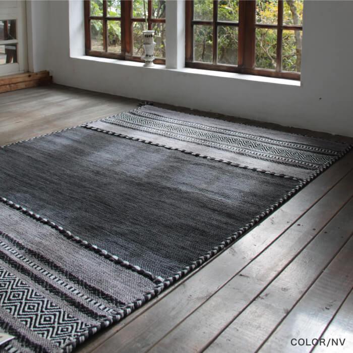 【内装床材】シェニールラグ Mサイズ 全3パターン ※代引き不可・メーカー直送品