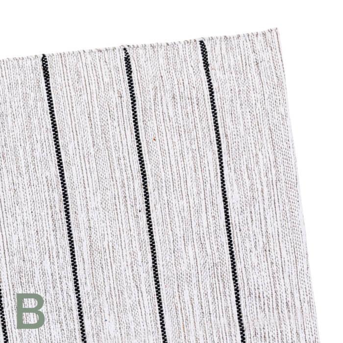 【内装壁材】ボーダーラグ Mサイズ 130x190cm 全3パターン ※代引き不可・メーカー直送品