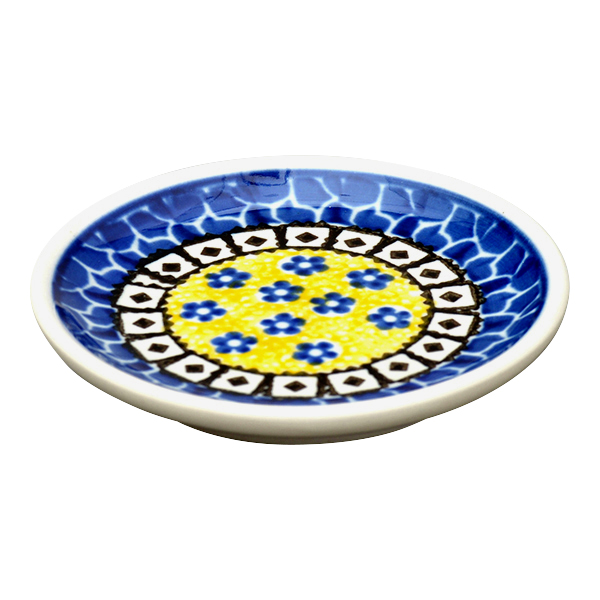 サフラン 小皿(10cm)