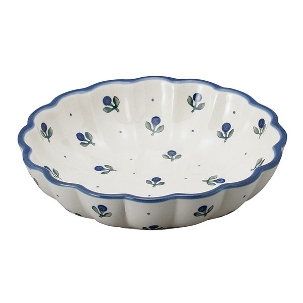 フィオーレ 波型盛鉢(20cm)