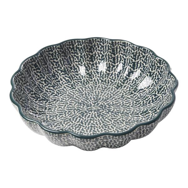 フォーリアベルデ 波型盛鉢(23.5cm)