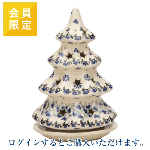 [※ログインが必要です※会員限定商品]ヤポニア キャンドルホルダー モミの木(17.5cm)