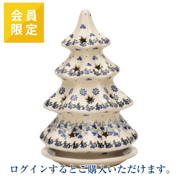 [※ログインが必要です※会員限定商品]ヤポニア キャンドルホルダー モミの木(20cm)