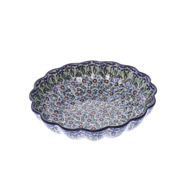 アスター 波型盛鉢(20cm)