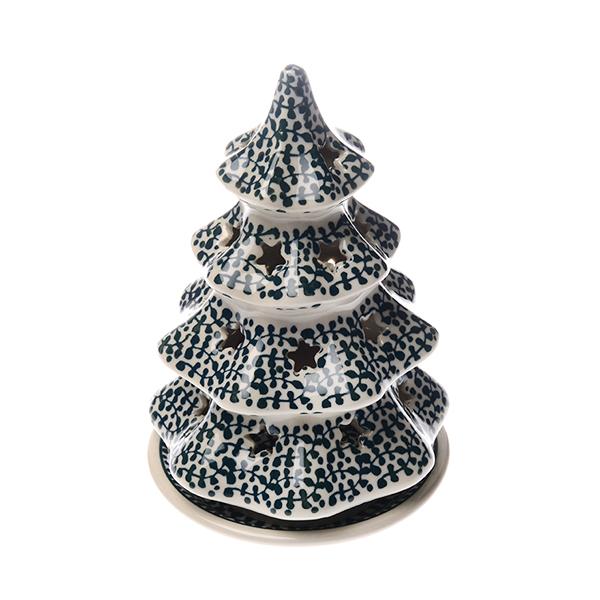 フォーリアベルデ キャンドルホルダー モミの木(17.5cm)