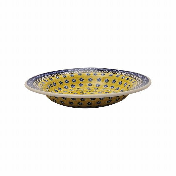 サフラン パスタ皿(24cm)