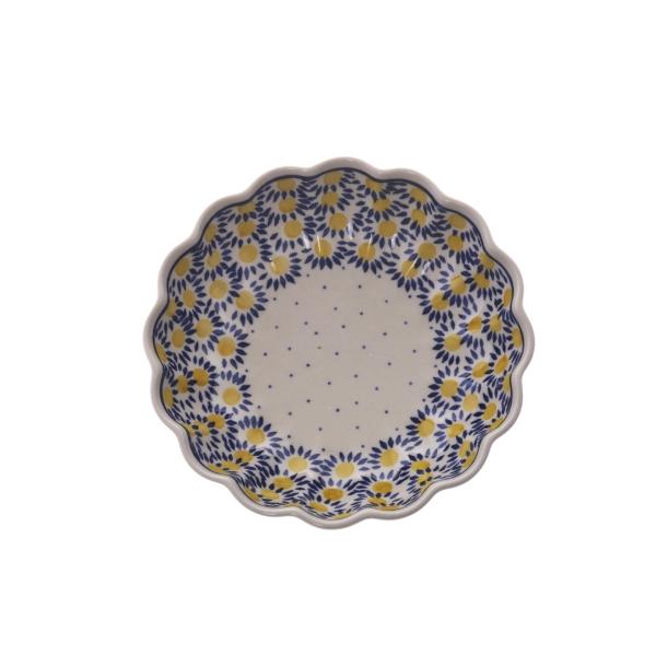 デイジー 波型盛鉢(20cm)[CR965]