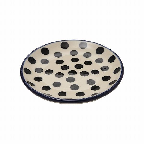 ウエイブドット 小皿(10cm)