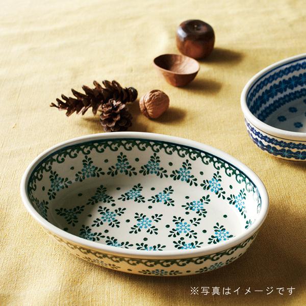 ガーデン 小判型ボウル(24cm)