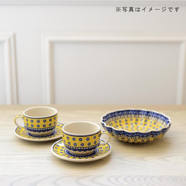 サフラン 波型盛鉢(20cm)[CR794]