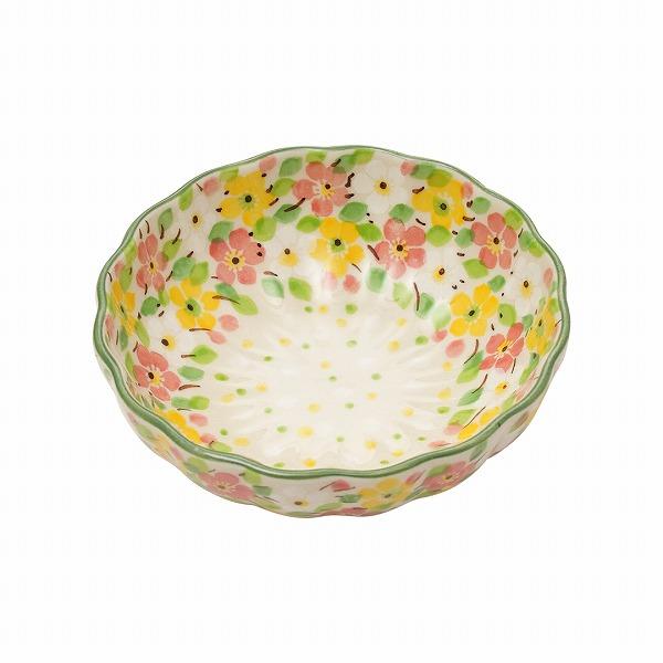 メルヘンブーケ 波型盛鉢(12cm)