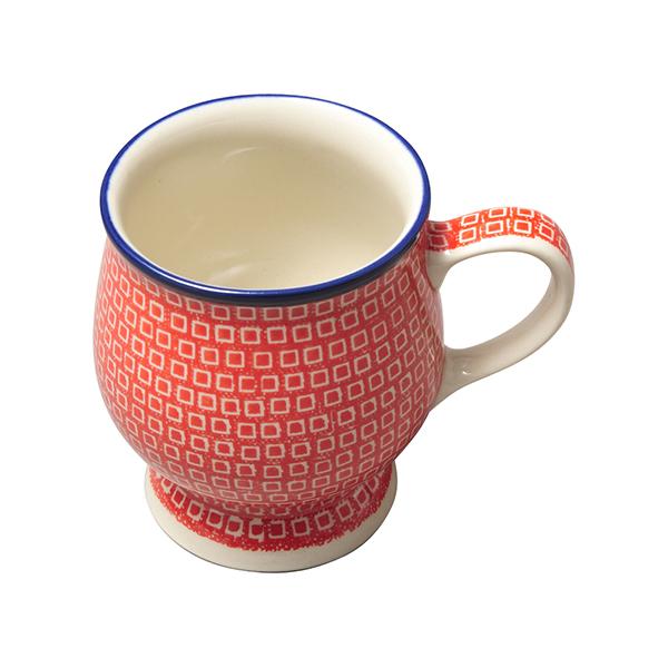 プティパヴェレッド 脚付きマグカップ