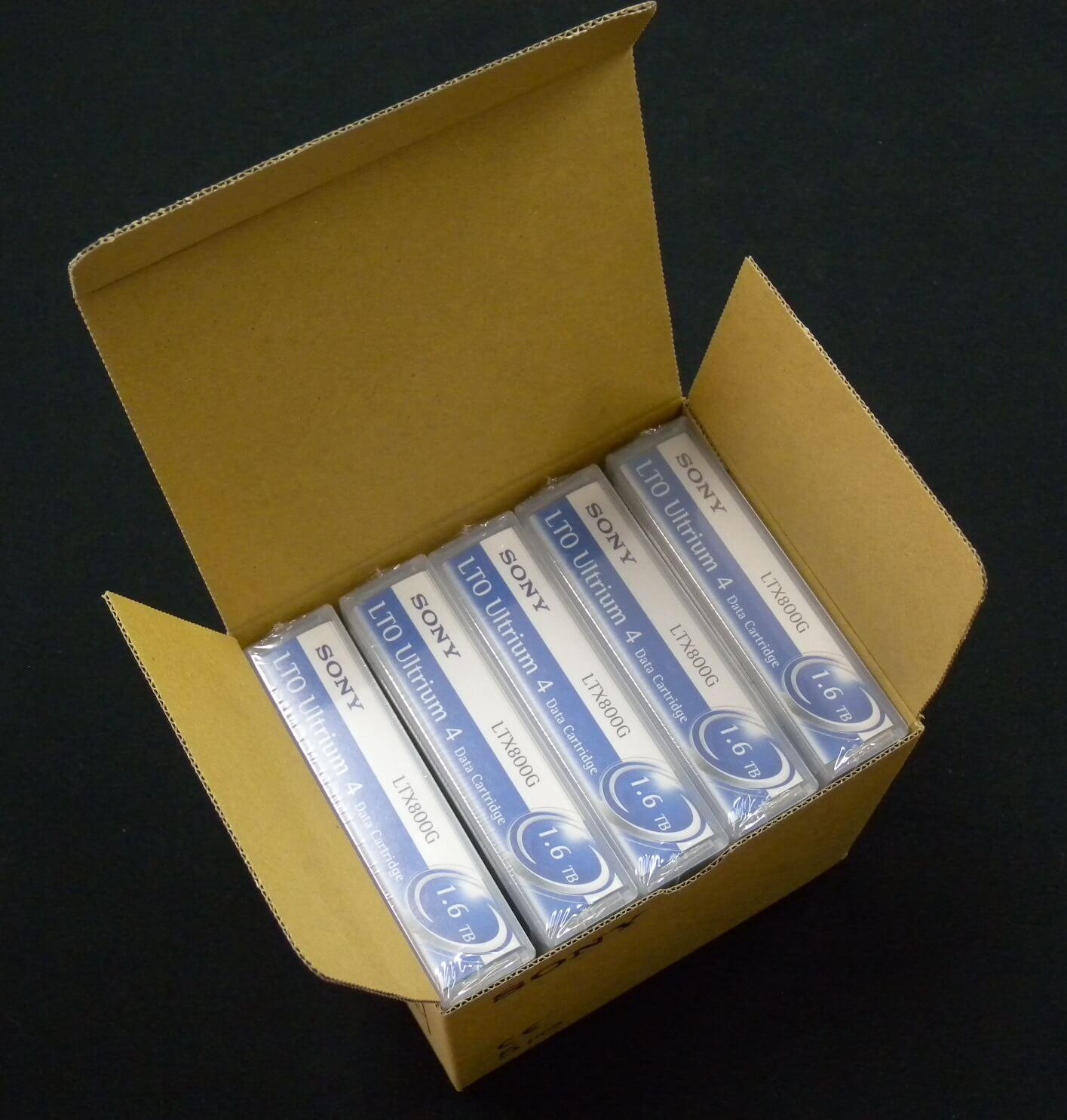 送料無料,ソニー,LTX800GR,5本セット,新品,データカートリッジ,LTO,Ultrium,4,Data,Cartridge,SONY
