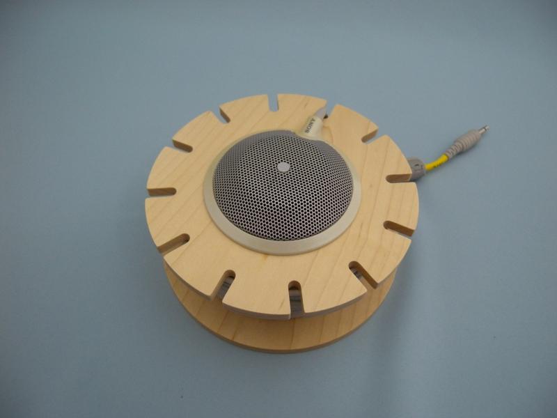 送料無料,木製,マイクホルダー,PCS-A1用,2個まで