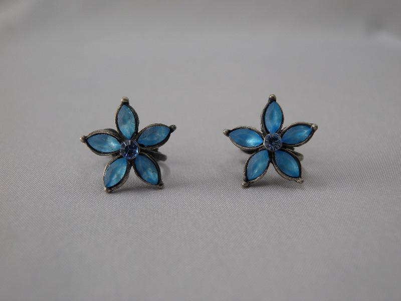 送料無料,イヤリング,004,青,earrings,blue,アクセサリー