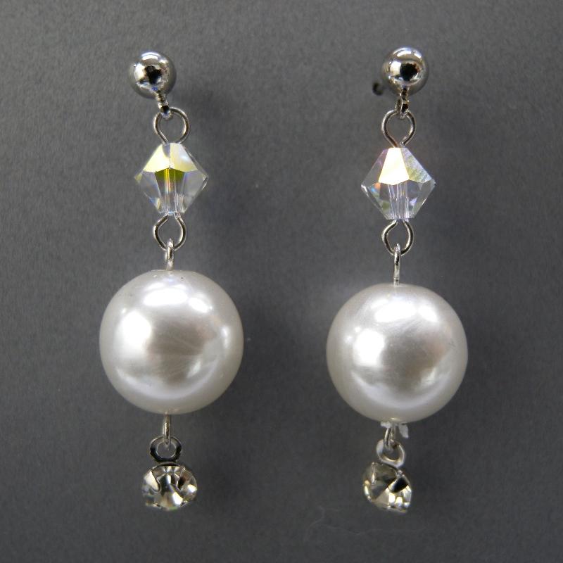 送料無料,ピアス,011,パール,ホワイト,earrings,pearl,white,アクセサリー