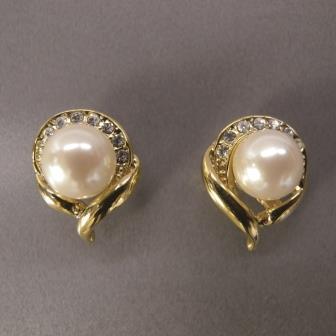 送料無料,ピアス,018,パール,ゴールド,earrings,pearl,gold,アクセサリー