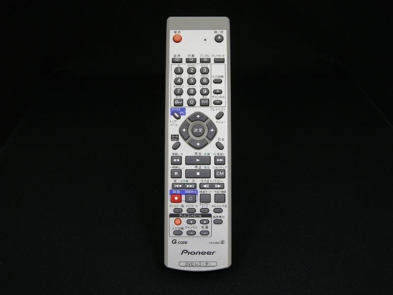 送料無料,パイオニア,VXX2881,中古,DVD,レコーダー,リモコン,Pioneer