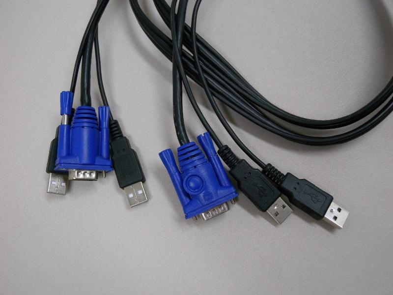パソコン自動切替器 CG-PC2UVMNS(中古)
