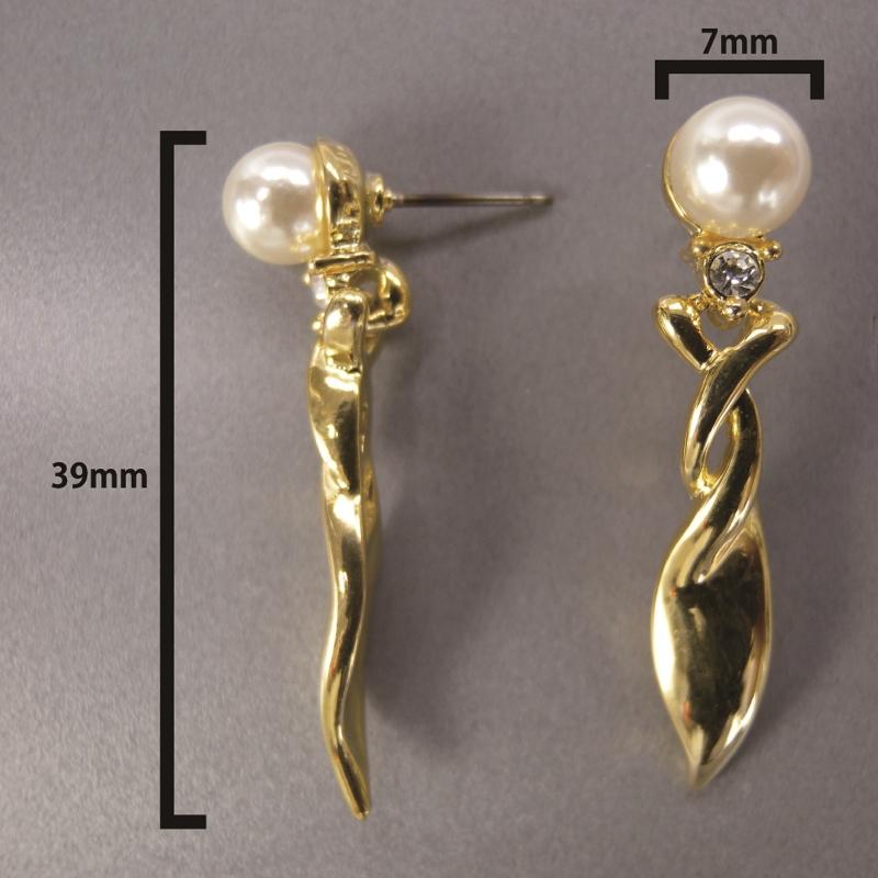 送料無料,ピアス,020,パール,ゴールド,earrings,pearl,gold,アクセサリー