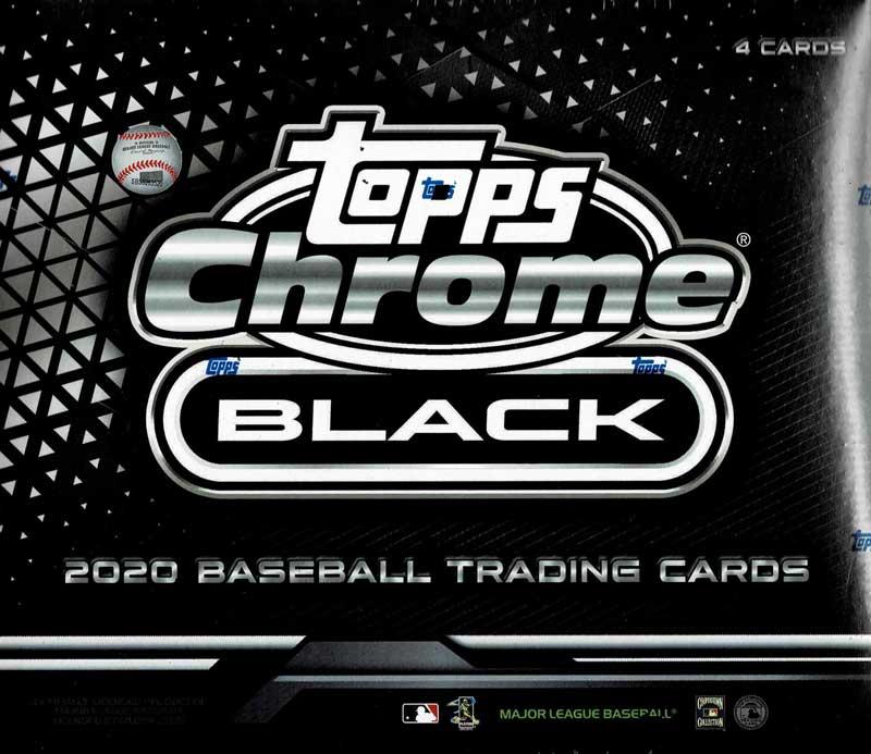 MLB 2020 Topps Chrome Black Baseball  11/25入荷
